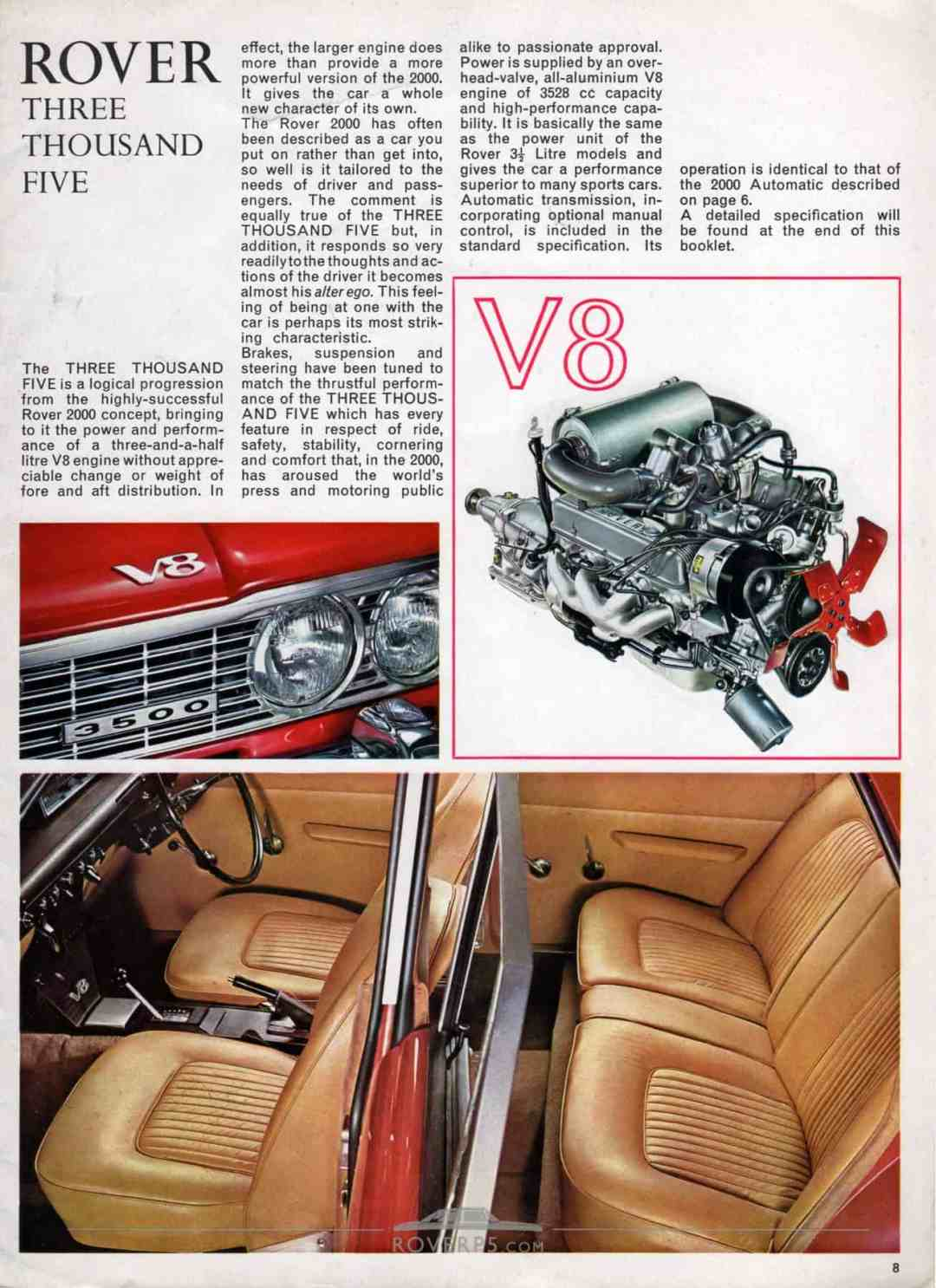 Brochure - 1968 - Rover - Page 08