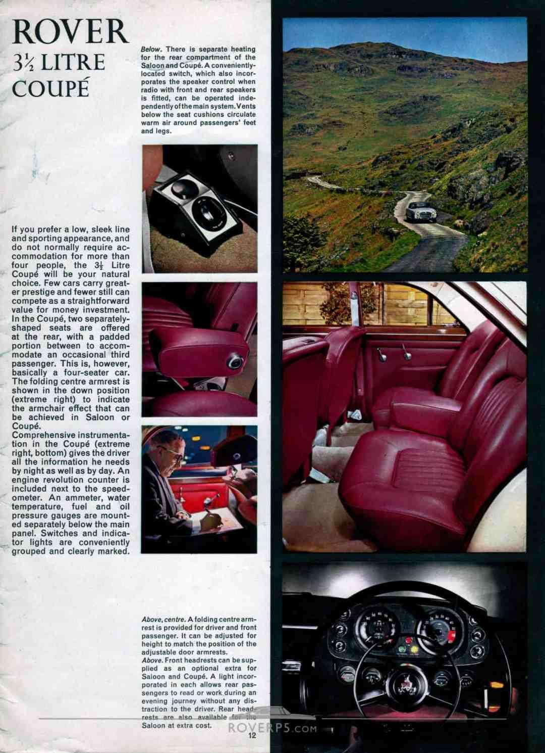 Brochure - 1968 - Rover - Page 12