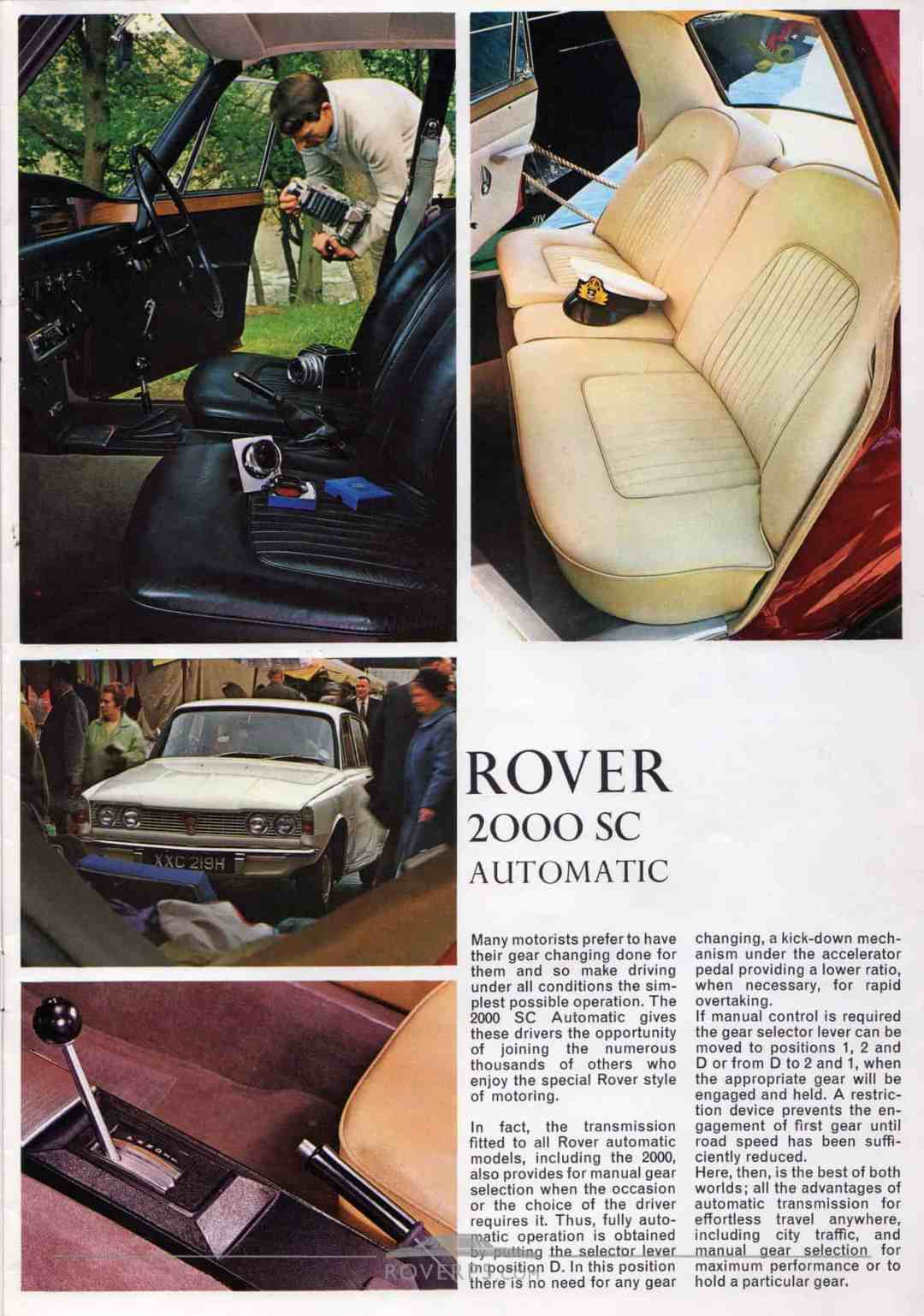 Brochure - 1969 - Rover - Page 02