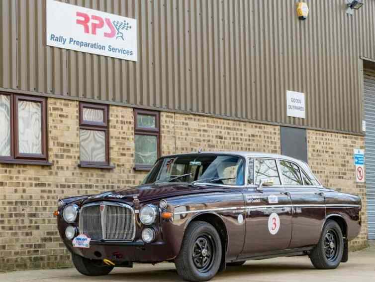 Like Rallying Got 55k Rover P5b Coupe Classic Endurance Rally Car