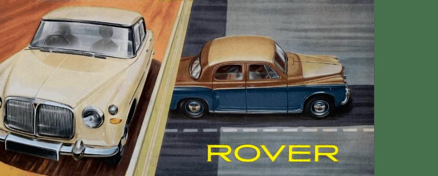 Rover Brochure 1959