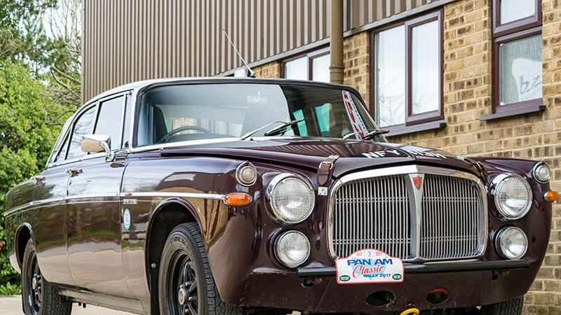 Like Rallying? Got £45K? Rover P5B Coupe Classic Endurance Rally Car (Part II)