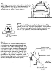 Land Rover Roof Rack Installation Instructions - Part 9222A