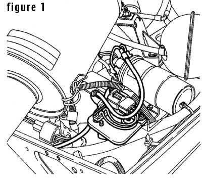 Diagram to install the STC1856 Land Rover Ignition