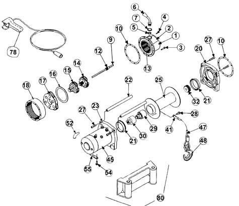 Ramsey Winch Wiring Diagram Electric Tulsa Winch Diagram
