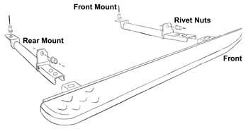 Land Rover Freelander Side Step Installation Instructions