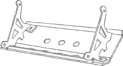 Diagram For The Discovery I Steering Guard