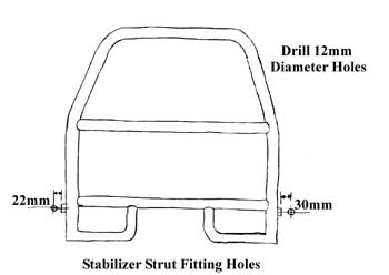 Land Rover Discovery Series II Brush Bar Installation Diagram