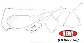 Defender Brake, Fuel and Clutch Lines for D90 and 110