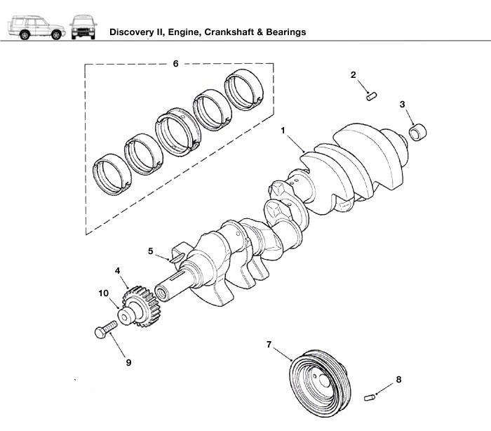 2012 Range Rover Evoque Harmonic Balancer
