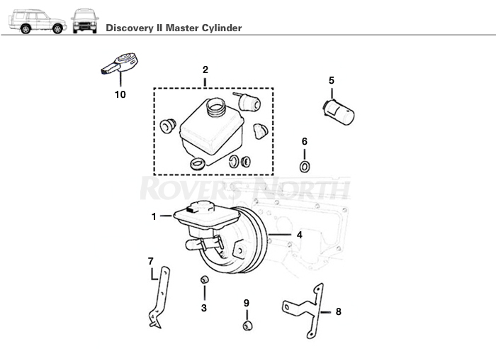 Land Rover Discovery 2 Brakes