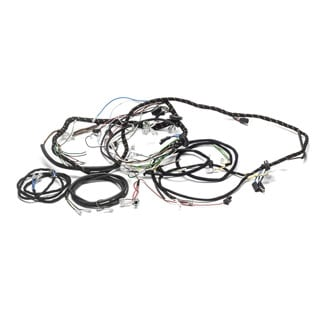 Wire Harness Late Series IIA w/Engine-Dynamo Harness