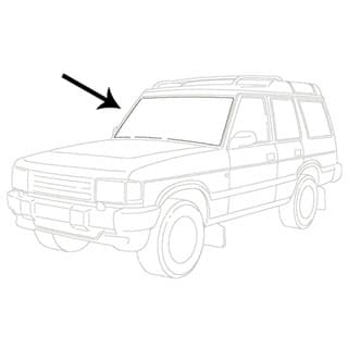 Land Rover Discovery II Windscreen, Alpine & Rear Glass