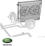1999- 2002 Range Rover P38A Air Conditioning, Cooling