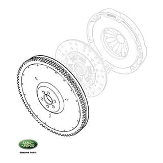 Defender V8 Manual Clutch Disk, Pressure Plate & Flywheel