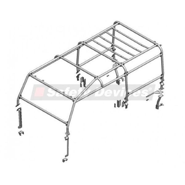 SAFETY DEVICES FULL EXT SAFARI CAGE DEFENDER 110 STATION