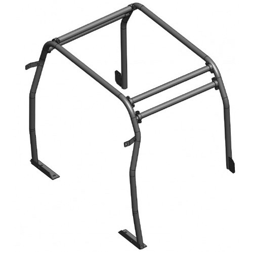 SAFETY DEVICES INTERNAL REAR HALF ROLL CAGE DEFENDER 110