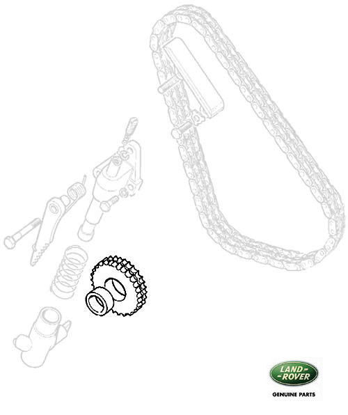 IDLER WHEEL TIMING CHAIN 2.25L 4 CYL SERIES, RNA999