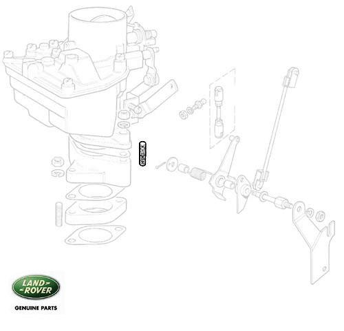 Stud Carburettor Adapter Base Series 252514 RNB582
