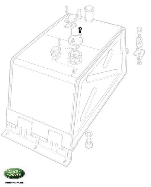 SCREW FUEL SENDER UNIT SERIES III-III, RNB997, 3890