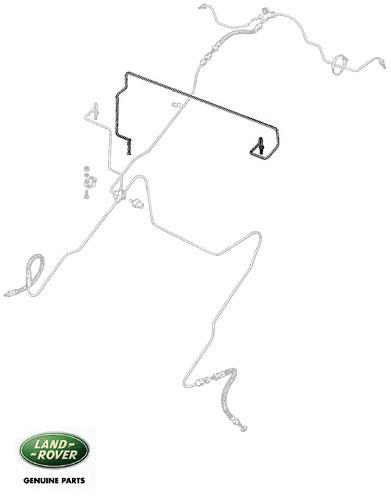 BRAKE PIPE MASTER/UNION DUAL POWER REAR, RNC577, 595466