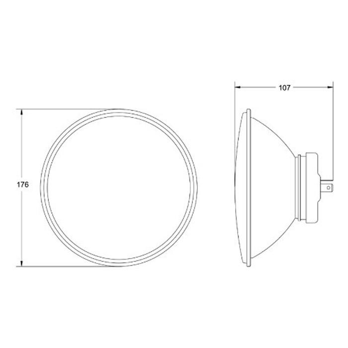 Hella Vision Plus High Performance Headlamp 70477 RNC673