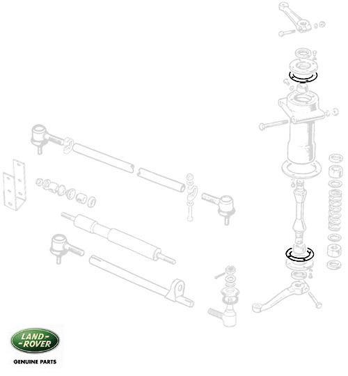 GASKET STEERING RELAY SERIES II-III, RNC775, 90624436