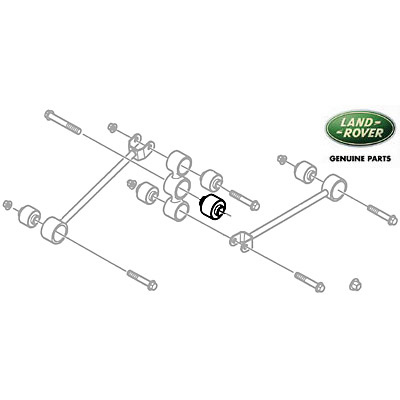 BUSHING REAR WATTS LINK DISCOVERY II, RND808, RGW100020