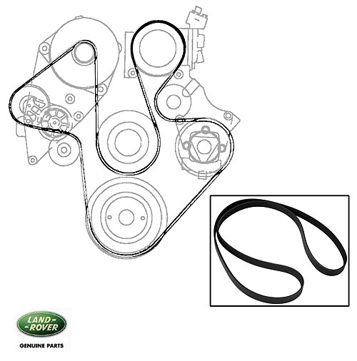 Land Rover Discovery 2 Serpentine Belt