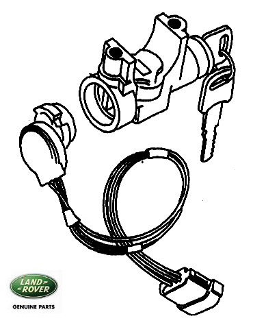 LOCK STEERING COLUMN DISCOVERY I MANUAL, RNH589, STC1435