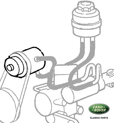 PUMP POWER STEERING DISCOVERY I 94-99,RANGE ROVER CLASSIC