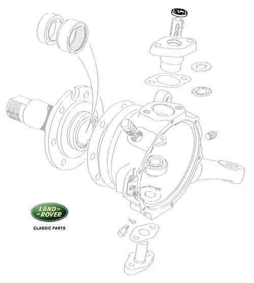 Oil Seal Top Pin Sensor Anti Lock Brakes FTC1376 RNS108