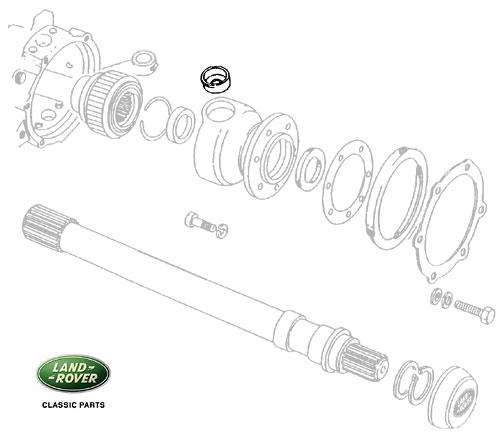 Railco Bush Swivel Ball Top Pin RRC & Discovery I FTC125