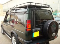 ROOF RACK DISCOVERY II WITH ROOF RAILS, RRL1560RRA ...