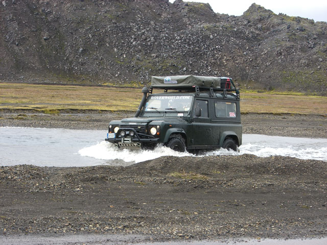 Islanda in Land Rover  Iceland
