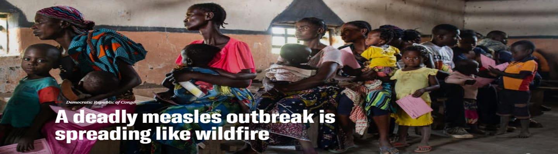 «Γιατροί Χωρίς Σύνορα» – Κονγκό: Η χειρότερη επιδημία ιλαράς από το 2011