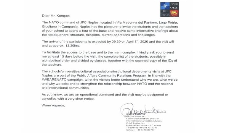 WeAreNATO: Μαθητές Δημοτικού «στόχος» ΝΑΤΟικής προπαγάνδας