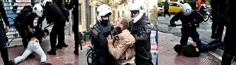 Όργιο βίας με άρωμα χούντας! Επίθεση σε βουλευτές, χημικά και συλλήψεις τύπου Φλόιντ από την ΕΛΑΣ