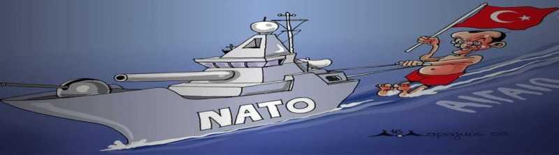 Όταν γίνει το «μπραφ» τότε θα διαμαρτυρηθείς για το ΝΑΤΟ;