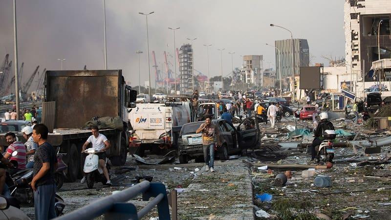 Βηρυτός: Ανατινάχτηκαν σχεδόν τρεις χιλιάδες τόνοι νιτρικής αμμωνίας