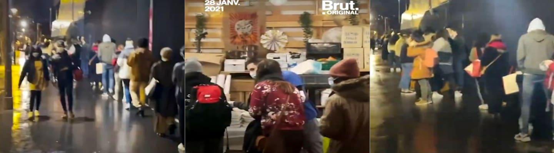 Γαλλία: Ατέλειωτες ουρές φοιτητών για λίγο φαγητό