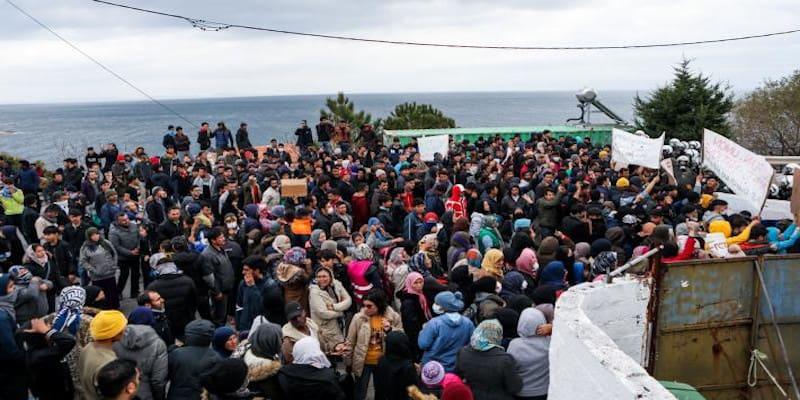 Για την εκρηκτική και επικίνδυνη κατάσταση που έχει δημιουργηθεί στα νησιά του Αιγαίου