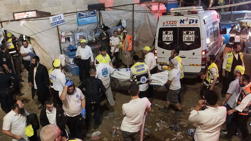 Δεκάδες νεκροί σε ολονύχτια θρησκευτική γιορτή στο Ισραήλ