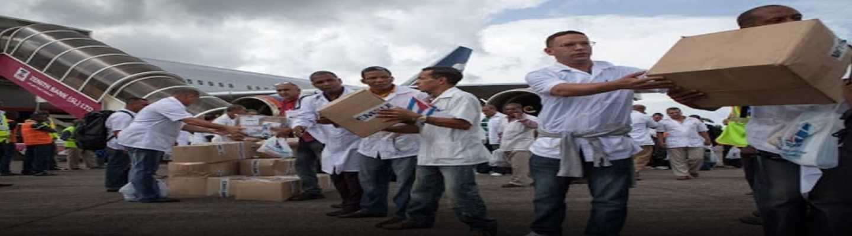 Η Κούβα στέλνει ζωή εκεί που η δύση σπέρνει θάνατο