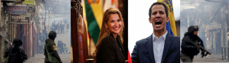 Η αυτοανακηρυγμένη «πρόεδρος» της Βολιβίας αναγνώρισε τον αυτοανακηρυχθέντα «πρόεδρο» της Βενεζουέλας