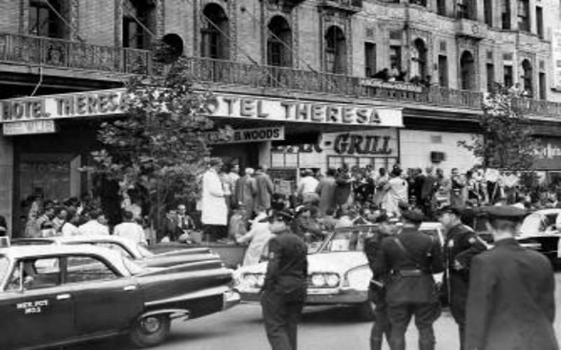 Η ομιλία του Φιντέλ Κάστρο στο Χάρλεμ (Νέα Υόρκη 1995)