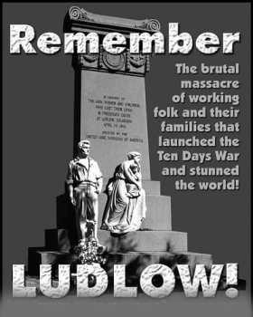 Η σφαγή των ανθρακωρύχων στο Ludlow και ο Λούης Τίκας