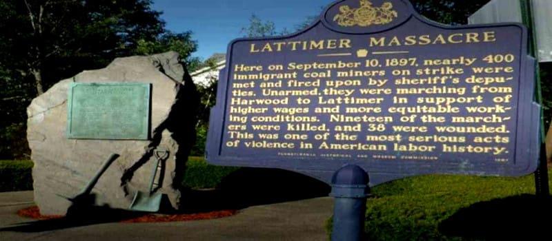 Η σφαγή των ανθρακωρύχων στο Λάτιμερ της Πενσυλβάνια
