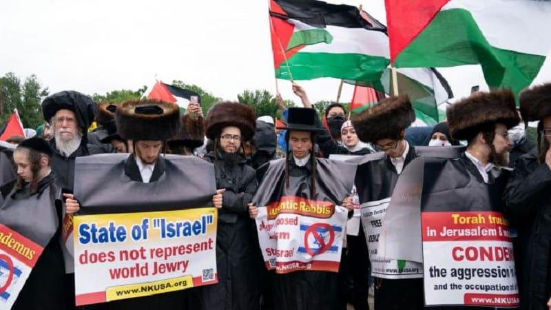 Μεγάλη διαδήλωση υπέρ των Παλαιστινίων στην Ουάσιγκτον