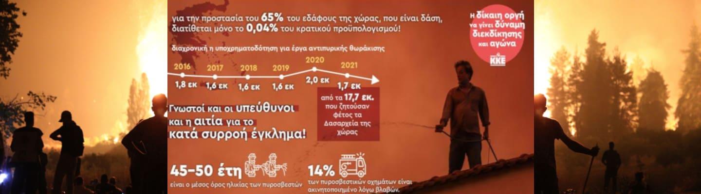 Μόνο το 0.04% του προϋπολογισμού για την προστασία των δασών